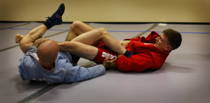 freestyle wrestling - ankle lock